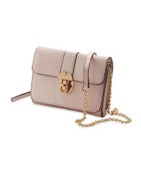 Avenue Ladies' Metallic Pink Bag