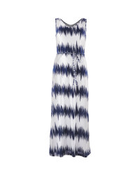 Avenue Ladies' Nautical Maxi Dress