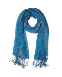 Avenue Ladies' Occasion Scarf - Teal