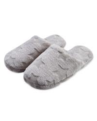 Avenue Ladies' Plush Slippers