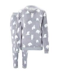 Avenue Ladies' Bear Cosy Pyjama