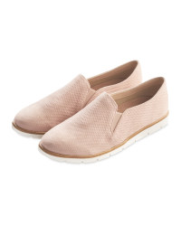 Avenue Ladies Casual Slip Ons - Pink