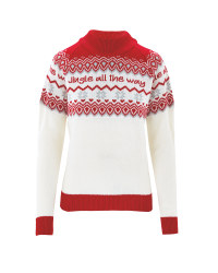 Avenue Ladies Fairisle Jumper