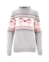 Avenue Ladies Flamingo Jumper