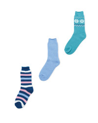 Avenue Ladies Heat for Feet Socks