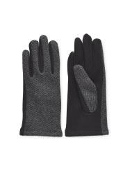 Avenue Ladies Herringbone Gloves