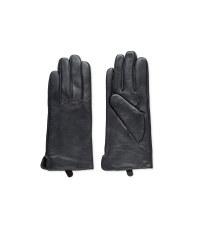 Avenue Ladies Leather Gloves - Grey