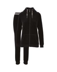 Avenue Ladies' Black Loungewear Set