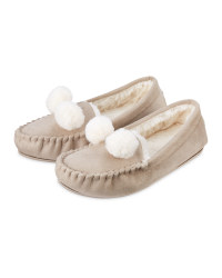 Avenue Ladies' Moccasin Slippers