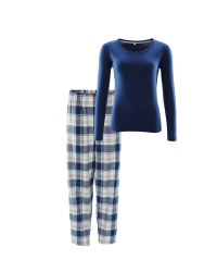 Avenue Ladies Navy Winter Pyjamas