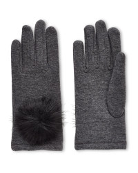 Avenue Ladies Pom Pom Gloves