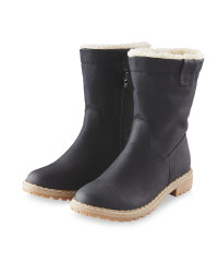 Avenue Ladies Snug Boot - Black