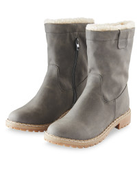 Avenue Ladies Snug Boot - Grey