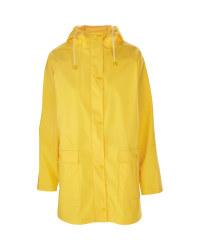 Avenue Ladies Yellow Raincoat