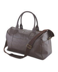 Avenue Leather Holdall - Brown