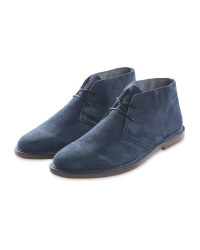 Avenue Men's Blue Desert Boots
