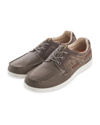 Avenue Men's Brown Comfort Shoes