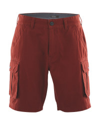 Avenue Men's Cargo Short - Rust