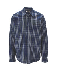 Avenue Men's Poplin Casual Shirt
