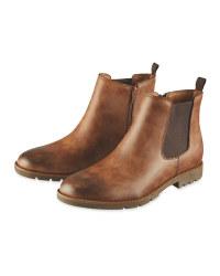 Avenue Men's Chelsea Boots - Brown