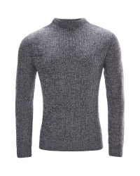 Avenue Men's Chunky Jumper - Navy