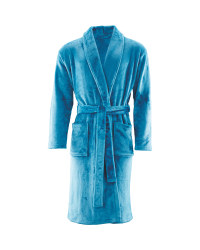 Avenue Men's Dressing Gown - Blue