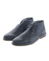 Avenue Men's Grey Desert Boots