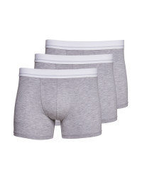 Avenue Men's Grey Hipsters 3 Pack