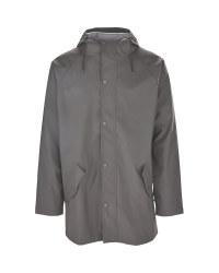 Avenue Men's Grey Raincoat