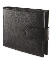 Avenue Men's Leather Wallet - Brown