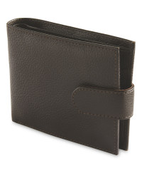 Avenue Men's Leather Wallet - Brown