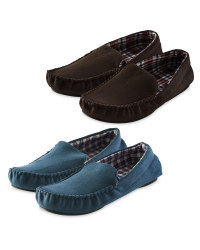 Avenue Men's Moccasin Slipper