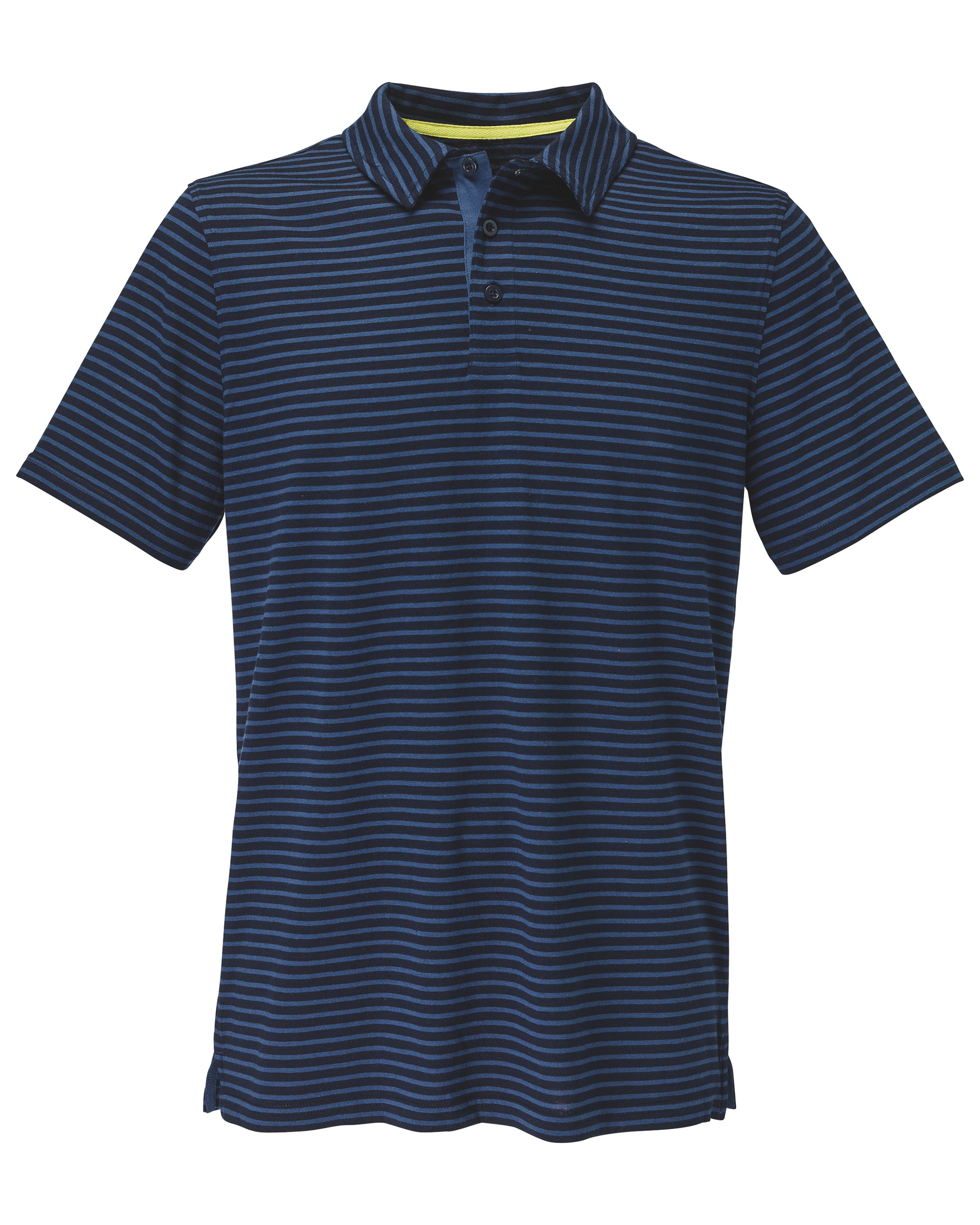 Avenue Men's Navy Blue Polo Shirt