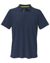 Avenue Men's Navy Blue Polo Shirt