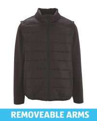 Avenue Men's Quilted Jacket 2-in-1