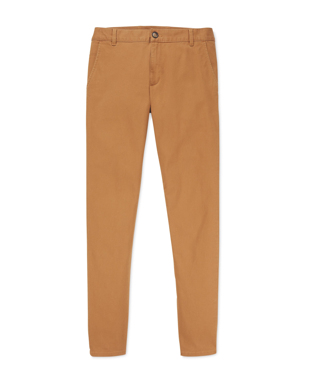 Avenue Men's Sand Chino Trousers