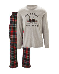 Avenue Men's Santa Squad Pyjamas
