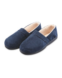 Avenue Men's Slippers - Navy
