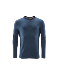 Avenue Men's Waffle Top - Blue