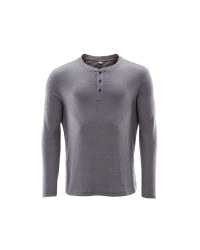 Avenue Men's Waffle Top - Grey