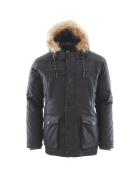 Avenue Men's Winter Parka - Black