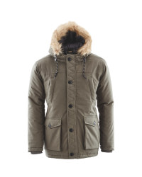Avenue Men's Winter Parka - Olive