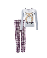 Avenue Owl Ladies Winter Pyjamas