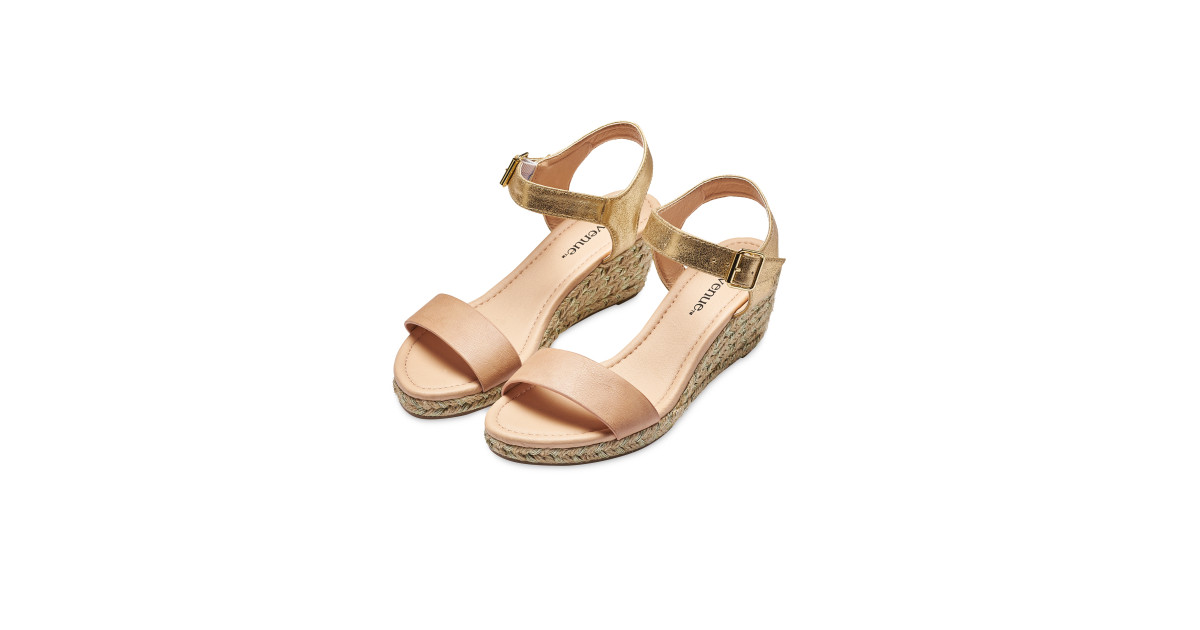 2136c83e8 Avenue Pink Espadrille Wedge - ALDI UK