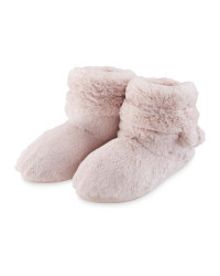 Avenue Pompom Slipper Boots