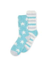 Avenue Star Lounge Socks