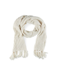 Avenue Tassels  Ladies Knitted Scarf