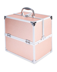 Avenue Vanity Case Textured - Rose Gold