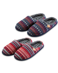 Avenue Winter Mule Slippers
