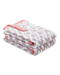 Kirkton House Aztec Towel 2-Pack